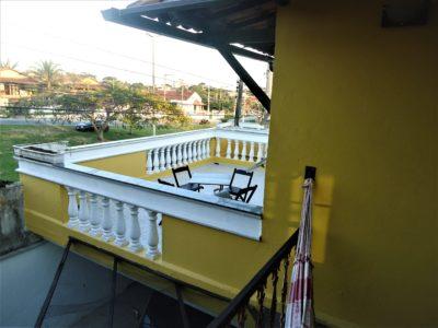 9- Casa 03 Chalé, Sacada2